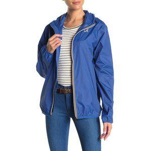 K-WAY Claude Front Zip Hooded Jacket Waterproof